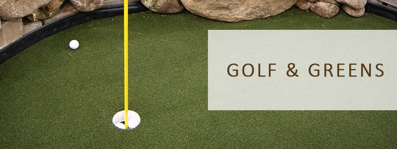Artificial Grass Turf For Golf